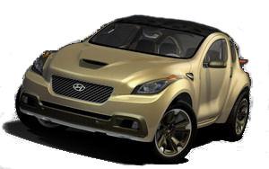 Présentation complète du concept-car Hyundai HELLION (2007)..