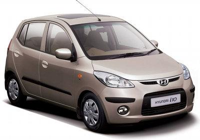 Présentation de la Hyundai I10 de 2008.