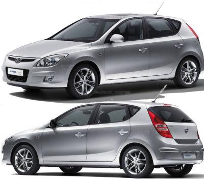 Présentation de la Hyundai i30 de 2008.