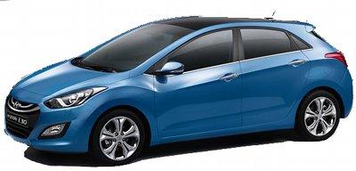Présentation de la nouvelle génération de Hyundai i30, une compacte concurrençant les Peugeot 308, Renault Megane ou VW Golf.