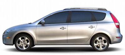 Présentation de la Hyundai I30 Wagon de 2008.