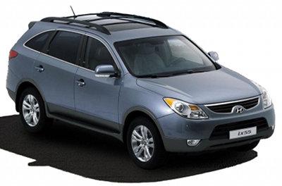 Présentation du SUV Hyundai IX55 de 2009.