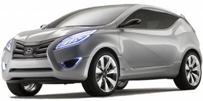 Présentation du concept-car Hyundai Nuvis Concept de 2009.